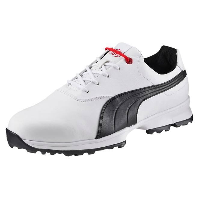 Puma Golf Ace Shoes - White/Black