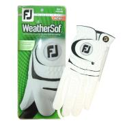 Footjoy WeatherSof White Golf Glove