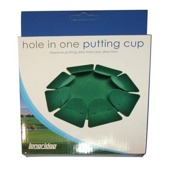 Longridge Hole in One Putting Cup - Green Baize