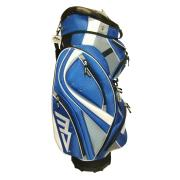 MD Golf Deluxe Cart Bag - Blue/White/Grey