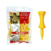 Masters 30 Yellow Graduated Plastic Tees - 45mm