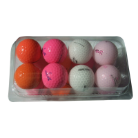 Mix of Coloured Lake Balls - 16 Balls