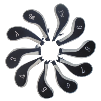 CG 10 Longneck Neoprene Iron Covers - Black/White