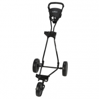 Caddymatic Continental 3 Wheel Golf Trolley - Black