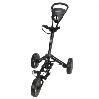 Caddymatic X-Lite One Click 3 Wheel Golf Trolley - Black/Grey
