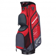 Callaway Org Cart Bag - Red/Grey - 2017