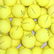 Callaway Supersoft Yellow Lake Golf Balls - 50 Balls