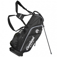 Cleveland Stand Bag - Black/Grey Trim
