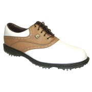 Footjoy Hydrolite Golf Shoes - White/Taupe