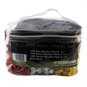 Forgan Tee and Golf Towel Set
