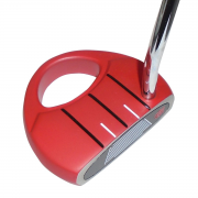 Heater 3 Extra MOI Mallet Putter - Red - RH