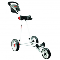 Longridge Eze Glide Cruiser 3 Wheel Golf Trolley - White
