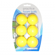 Longridge Yellow Foam Practice Balls