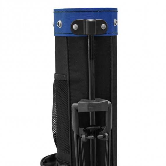 Longridge Travelite Stand Bag - Black/Blue