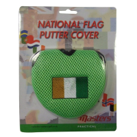 Irish Flag Two Ball Putter Cover
