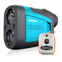 Mileseey PF210 600mt Laser Range Finder with Slope Correction