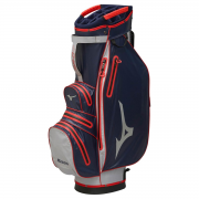 Mizuno BR Dri Cart Bag - Navy/Red