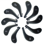 CG 10 Longneck Neoprene Iron Covers - Black/Grey