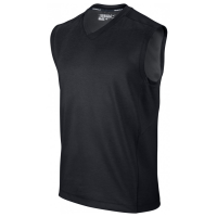 Nike Dri Fit Wool Tech Sleeveless Jumper - Black
