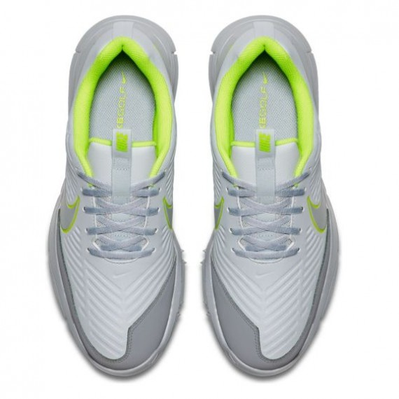 Nike Explorer 2 Golf Shoes - Grey/Yellow