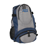 North Gear Camping Bola 30L Rucksack - Grey/Blue