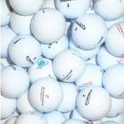 Mix of Pinnacle White Lake Golf Balls - 25 Balls