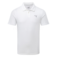 Puma ESS Cool Touch Polo Shirt - White