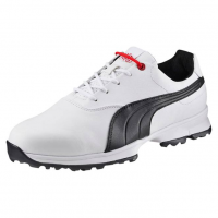 Puma Golf Ace Shoes - White/Black