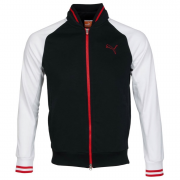 Puma Golf Track Jacket - Black/White