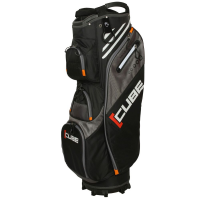 Skymax Cube Golf Cart Bag - Black/Grey