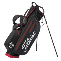Titleist 4Up Stadry Stand Bag - Black/Red