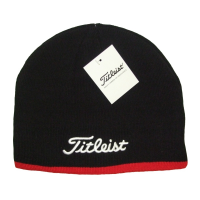 Titleist Beanie Hat - Black/Red
