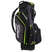 Titleist Lightweight Cart Bag - Black/Grey/Lime