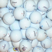 Mix of Titleist Lake Golf Balls - 50 Balls