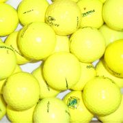 Mix of Value Branded Yellow Lake Balls - 25 Balls