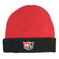 Wilson Staff Beanie Hat - Red/Black
