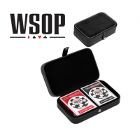 World Series of Poker Playing Cards & Leather Case