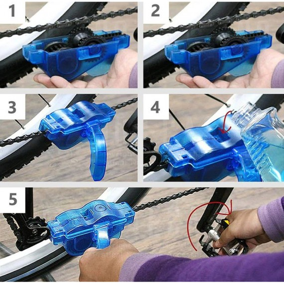 CS Bicycle Chain Cleaner Tool