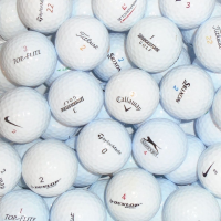 Branded & Value Mix of Lake Golf Balls - 50 Balls