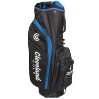 Cleveland Cart Bag - Black/Blue