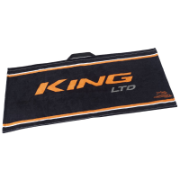 Cobra King Ltd Golf Towel - Black/Orange