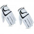 CG Cabretta Leather White Golf Glove - LH (2 Glove Pack)