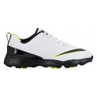 Nike Control Junior Golf Shoes - White/Black