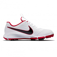 Nike Explorer 2 Golf Shoes - White/Red