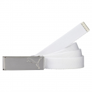 Puma Path Web Belt - White