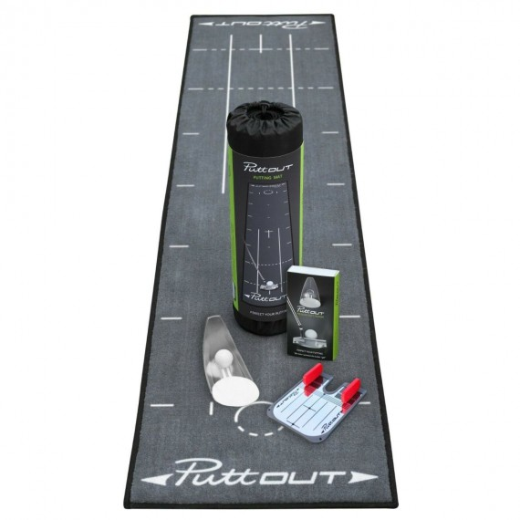 Putt Out Bundle Deal - Mat, Trainer and Putting Mirror