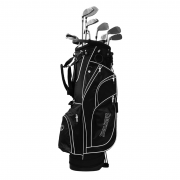 Spalding True Black Steel Package Golf Set - Right Handed
