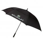 Stuburt Vented Black Golf Umbrella