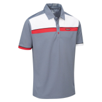 Stuburt Urban Response Polo Shirt - White/Grey