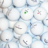 Value Branded Mix of Lake Golf Balls - 50 Balls